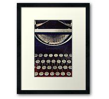 Old Letters Framed Print