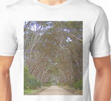 Corridor of trees, Kangaroo Island, South Australia Unisex T-Shirt