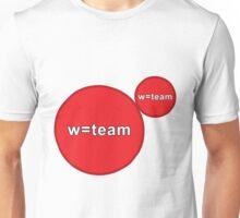 w=team Agar.io Unisex T-Shirt