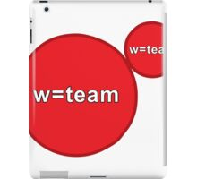 w=team Agar.io iPad Case/Skin