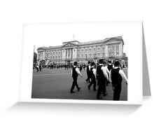 On the Royal Beat  Greeting Card