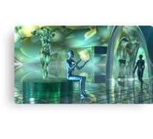 Altered Robotic Meditative States2 Canvas Print