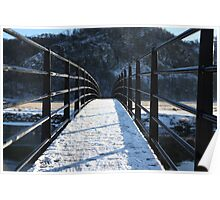 Bridge In The Lakes Poster
