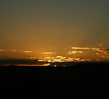 Autumn Sunset, Free State, South Africa by Qnita