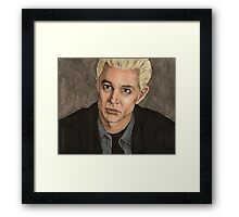 Crush - Spike - BtVS S5E14 Framed Print