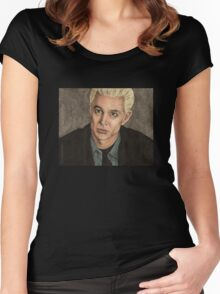 Crush - Spike - BtVS S5E14 Women's Fitted Scoop T-Shirt