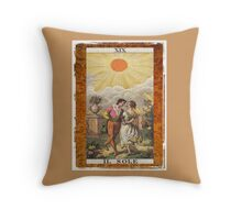 Il Sole Sun Tarot Card Throw Pillow