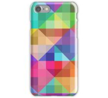 Multicolored Squares iPhone Case/Skin