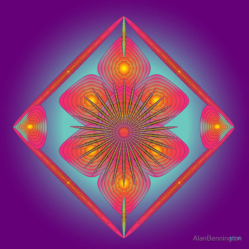 Mandala No. 51 by AlanBennington