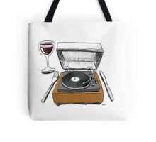 Dinner Music Tote Bag