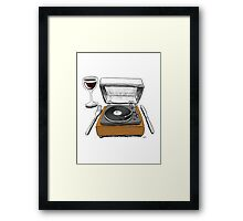 Dinner Music Framed Print