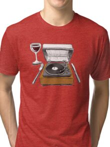 Dinner Music Tri-blend T-Shirt