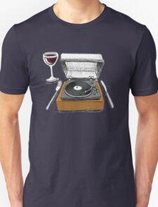 Dinner Music Unisex T-Shirt