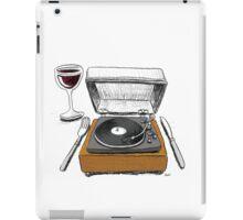 Dinner Music iPad Case/Skin