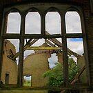 Through The School Window by Dave Godden
