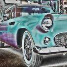 1956 Thunderbird by NancyC