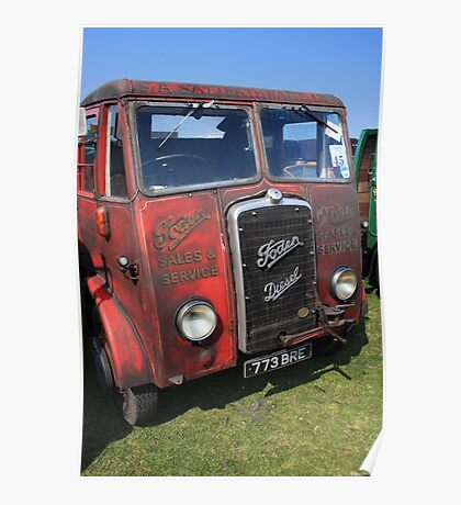 Old Foden Poster