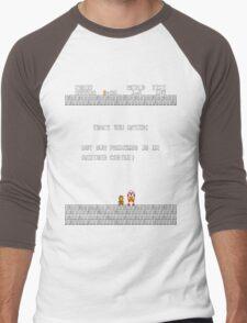 Thank You Mario Men's Baseball ¾ T-Shirt
