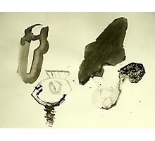 still life after masking tape Photographic Print