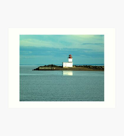 Parrsboro Lighthouse Art Print