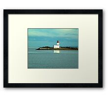 Parrsboro Lighthouse Framed Print