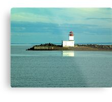 Parrsboro Lighthouse Metal Print