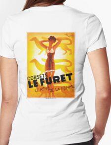 Vintage Fashion, French corset company, Art Deco T-Shirt