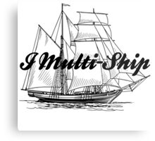 Multi-Ship Metal Print