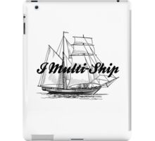 Multi-Ship iPad Case/Skin