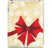 Red bow iPad Case/Skin