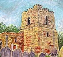 St Michael's Church, Cumbria by Hilary Robinson