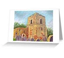 St Michael's Church, Cumbria Greeting Card