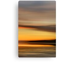 The Fleeting Moments of Daylight Canvas Print