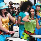 Samba drummers by SWEEPER