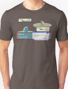 Browser Battle Unisex T-Shirt
