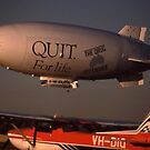 Bond Skyship @ Bankstown Airport, 1989 by muz2142