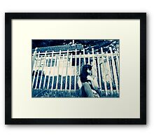 It's All About Perspective, Self Portrait Framed Print