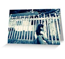 It's All About Perspective, Self Portrait Greeting Card