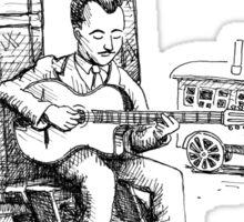 Django Reinhardt Sticker