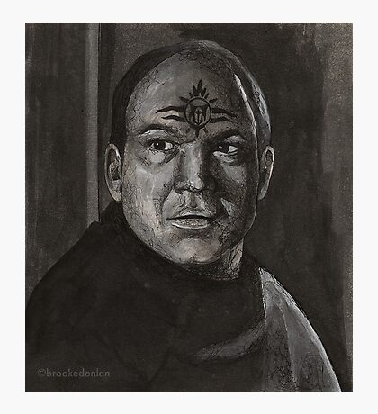 Spiral - General Gregor - BtVS S5E20 Photographic Print