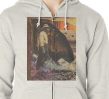 Where have the pretty things gone? Zipped Hoodie
