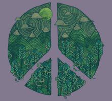 Peaceful Landscape Kids Tee