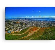 San Francisco Landscape Canvas Print