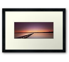 Jetty's Dawn Framed Print