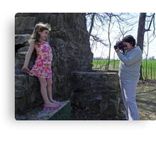 Photo of the photographer Canvas Print