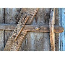 BARN DOOR LATCH Photographic Print