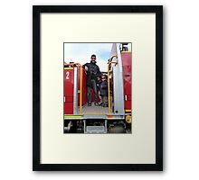 Fireys of the future Framed Print