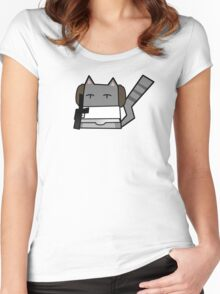 Leia Cat Women's Fitted Scoop T-Shirt