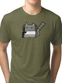 Leia Cat Tri-blend T-Shirt