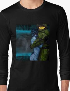 Cortana & Master Chief Long Sleeve T-Shirt